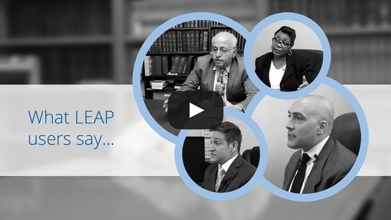 LEAP users discuss their law firm success stories.