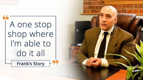LEAP's all-in-one solution makes legal matter management easy - Frank's testimonial