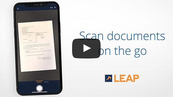 Remote collaboration app for lawyers - scan documents on your phone and upload the PDF instantly