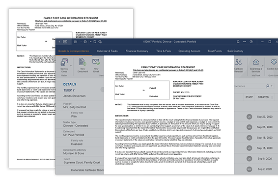 Automated legal forms and templates - auto fill in legal docs to automate your law firm