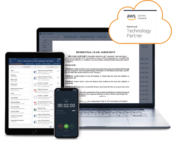 Private cloud legal software - LEAP works anywhere